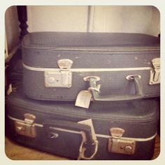 Cool suitcases!    Check out webthriftstore.com for more cool items!