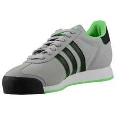 timeless design 3c91d ff62e adidas Originals Samoa - Men s - Tech Grey Green Zest Black