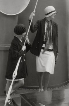 Style is when a photograph of attire taken by Edward Steichen, Vogue, 1928, looks as wonderful now, as it did then.
