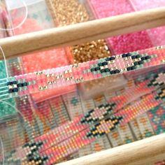 Beads-armbandje 'Ibiza Parade' - Mint15