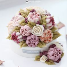 부산앙금플라워떡케이크 :: MOONIMOONI BEANPASTE FLOWER CAKE :: 무니무니...