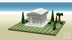 LEGO Ideas - Ancient greek temple (micro model)