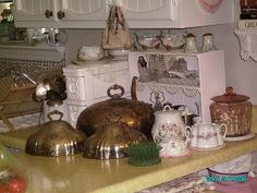 old silver domes and china | Flickr - Photo Sharing!