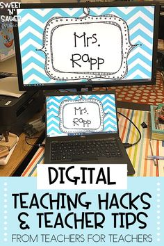 This is the year for needing and using technology in order to effectively teach. Here I am sharing TONS of new digital teacher hacks from a group of amazing teachers! Some of their digital tips and tricks include using a two monitor setup, incorporating virtual games and confetti, etc. These teacher hacks also cover a wide variety of digital platforms including Google Slides, Seesaw, and MORE!