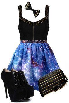 galactic dresses