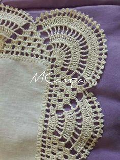 Crochet Baby Blanket Edging Tutorial 58 New Ideas Crochet Bedspread Pattern, Crochet Blanket Edging, Crochet Edging Patterns, Crochet Lace Edging, Crochet Curtains, Crochet Borders, Crochet Tablecloth, Tatting Patterns, Filet Crochet