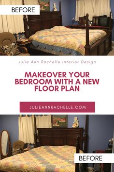Have you ever wondered how they accomplish such beautiful room makeovers on cable networks like HGTV? It all begins with the furniture layout. Come see my plans for my master bedroom makeover. julieannrachelle.com