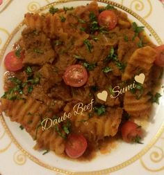 Daube Beef recipe by Sumayah posted on 12 Oct 2017 . Recipe has a rating of by 1 members and the recipe belongs in the Beef, Mutton, Steak recipes category Food Categories, Steak Recipes, Meat, Meat Recipes, Steaks, Beef Recipes