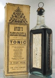Standard J.C. Ayer Cherry Pectoral Bottles (LowellMass.) [Another set ...