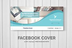 Facebook Timeline Cover by Creative Shop on Creative Market
