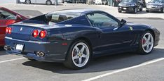 Ferrari Superamerica blue - Ferrari 575M Maranello - Wikipedia