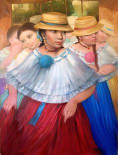 Galería virtual de obras, videos, reportajes y reseña acerca de Tatiana Pinzón.