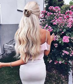 Easy Half-Up Half-Down Hairstyles for School & Work