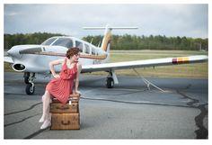 vintage + airplanes = me love