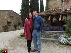 Fabio Civitelli e Manuela, a sua simpática esposa