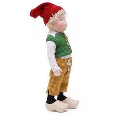 Nils Holgerson / cloth doll