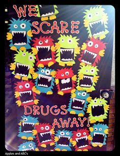 drug awareness boards on Pinterest | Red Ribbon Week, Drugs and ...