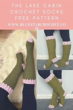 this is the easiest crochet sock pattern you will use! the super simple and quick crochet sock pattern uses super chunky yarn so these socks would make the perfect last minute gift. #quickcrochetsocks Easy Crochet Socks, Crochet Socks Pattern, Quick Crochet, Chunky Crochet, Crochet Slippers, Learn To Crochet, Single Crochet, Crochet Hooks, Free Crochet