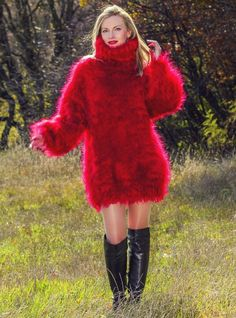 The Mohair and Angora fetish World Angora, Fluffy Sweater, Mohair Sweater, Vintage Ski, Thick Sweaters, Wool Sweaters, Sweater Fashion, Sweater Outfits, Sweater Dresses