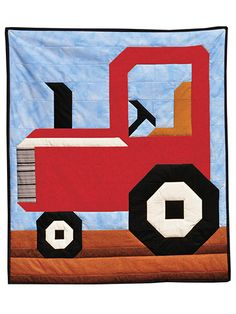 Tractor Quilt Pattern