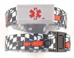$15.95 Speed Racer Kids Medical Alert Bracelets