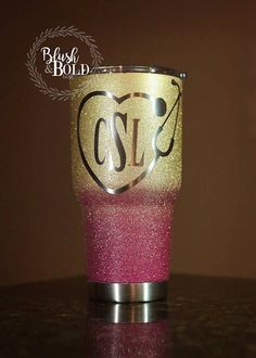 This listing is for one customized 20oz or 30oz Ozark Trail tumbler. You can choose up to three (3) colors for the cup and one (1) color for the monogram.  These tumblers make great gifts and are comparable to the Yeti tumblers, but half the cost. ** When purchasing please include the following in the note to seller: 1. The colors you would like your cup to be. (Please specify which color you would like on the top/bottom if you have a preference.) Color options are included in the pictures…
