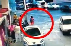 Intentaron robar una moto, pero el dueño dio una feroz golpiza al delincuente | Argentina