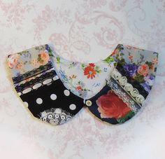 peter pan collar, pattern (mixed)