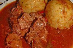 Gulasch im Schnellkochtopf (Rezept mit Bild) von sschlumpfine | Chefkoch.de