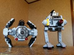 Tie Fighter Advanced Prototype and AT-DB minintures