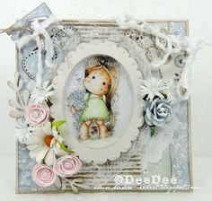 DeeDee´s Card Art: ♥ Shaker Card - A Greeting of Love ♥