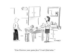 Putting On A Game Face - Forbes  http://www.forbes.com/sites/lizadonnelly/2013/01/17/putting-on-a-game-face/#