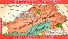 Beautiful Namdapha National park! 👇 Arunachal Pradesh, National Parks Map, Comic Books, Notes, Beautiful, Report Cards, Notebook, Cartoons, Comics