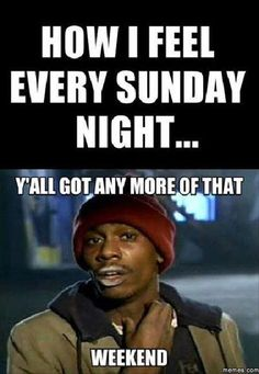 Feeling bad about Sunday night? Check out these Sunday night memes that can surely sum up how you feel. Funny Sunday Memes, Sunday Humor, Haha Funny, Funny Quotes, Funny Memes, Hilarious, Funny Stuff, Funny Shit, Jokes
