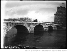 Pont Royal, mars 1910 [Paris, 1er arrondissement]