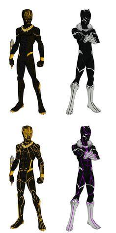 MCEU Black Panther and Golden Jaguar by shorterazer on DeviantArt Marvel Comic Universe, Marvel Comics Art, Marvel Heroes, Black Panther King, Black Panther Marvel, Wakanda Marvel, Young Avengers, Avengers Art, Spiderman Art
