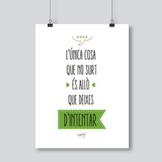 frases en catala - Cerca amb Google Positive Quotes For Life, Life Quotes, Great Sentences, Parol, Mr Wonderful, Just Smile, Letter Board, Best Quotes, Quotations