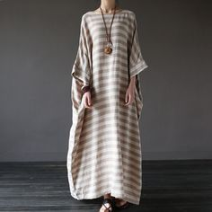 Serenity Vintage Over Sized Kaftan Dress
