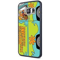 Scooby Doo Mystery Machine for Iphone and Samsung (Samsung Galaxy S6 black)