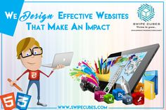 ✳Recreate your business by utilizing the Appealing web design services of @swipecubessofts ✳