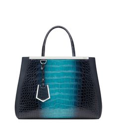 1ef13dc6847f crocodile and calfskin shopping bag with detachable shoulder strap