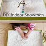 Making Snowmen… Inside!