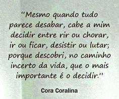 Cora coralina