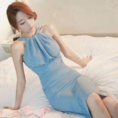 【dressgirl】 OPS041 プレミアムシャーリングシフォンワンピース パーティードレス