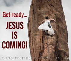 Get ready! Jesus is coming! Thank You Jesus, God Jesus, Jesus Christ, Bride Of Christ, Jesus Is Coming, Lord And Savior, Christian Quotes, Gods Love, Amen