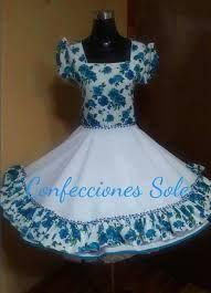 Resultado de imagen para vestidos de huasa chilena Little Girl Dresses, Girls Dresses, Flower Girl Dresses, Cute Fashion, Womens Fashion, Dance Outfits, Looking For Women, I Dress, Vintage Dresses