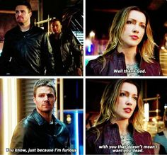 Laurel and Oliver! <3 #Arrow #3x16