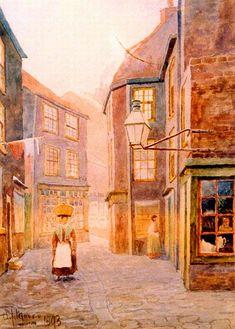 Sunderland Street Scene A.J. Moore 1896