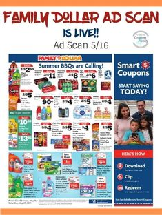 See the deals in the Family Dollar Weekly Ad Scan 5/16 Coupon Matchups, Weekly Ads, Coupons, Coupon
