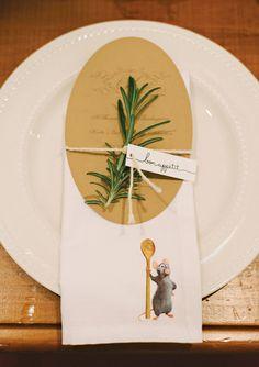 Ratatouille Themed Birthday + Thanksgiving Dinner